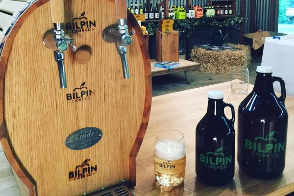 taste the delicious cider made from real fruit grown locally at the bilpin cider co.